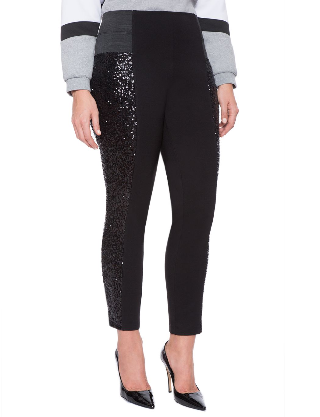 sequin miracle flawless leggings | women's plus size tops
