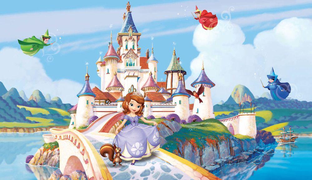 Princess Sofia Jpg 1000 577 Castelo Infantil Decoração Turma Da Monica Princesa Sofia