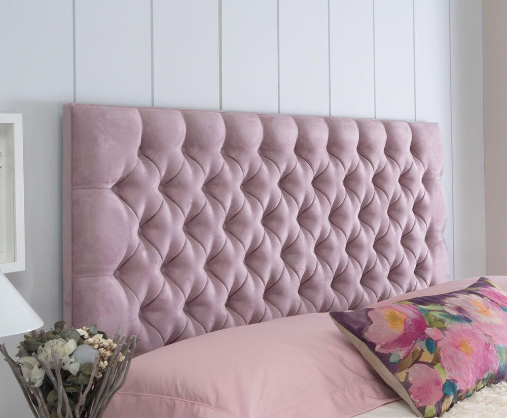Tiffany Faux Suede Headboard Home Room Design Bed Headboard