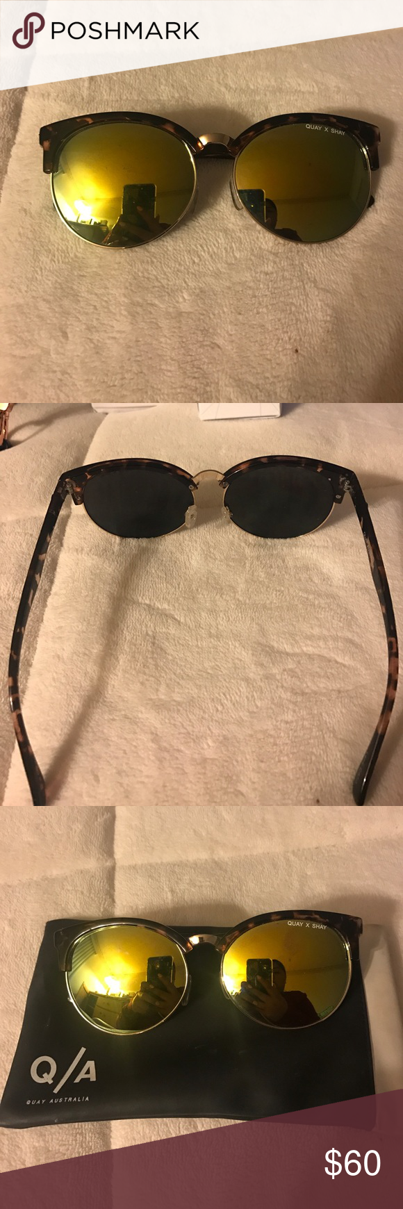 "Quay x Shay ""Vida"" sunglasses Barely worn Quay x Shay ""Vida"" sunglasses Quay Australia Accessories Sunglasses"