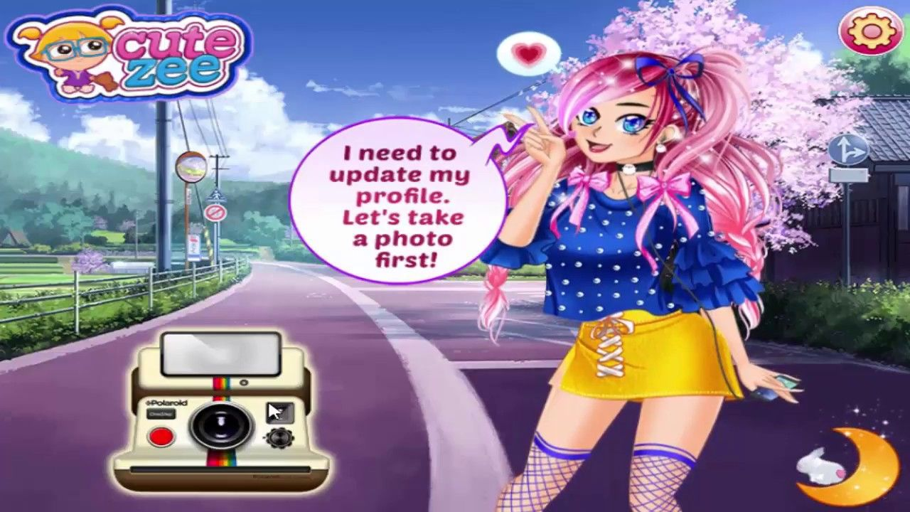 Dress up games for girls manga girl avatar maker