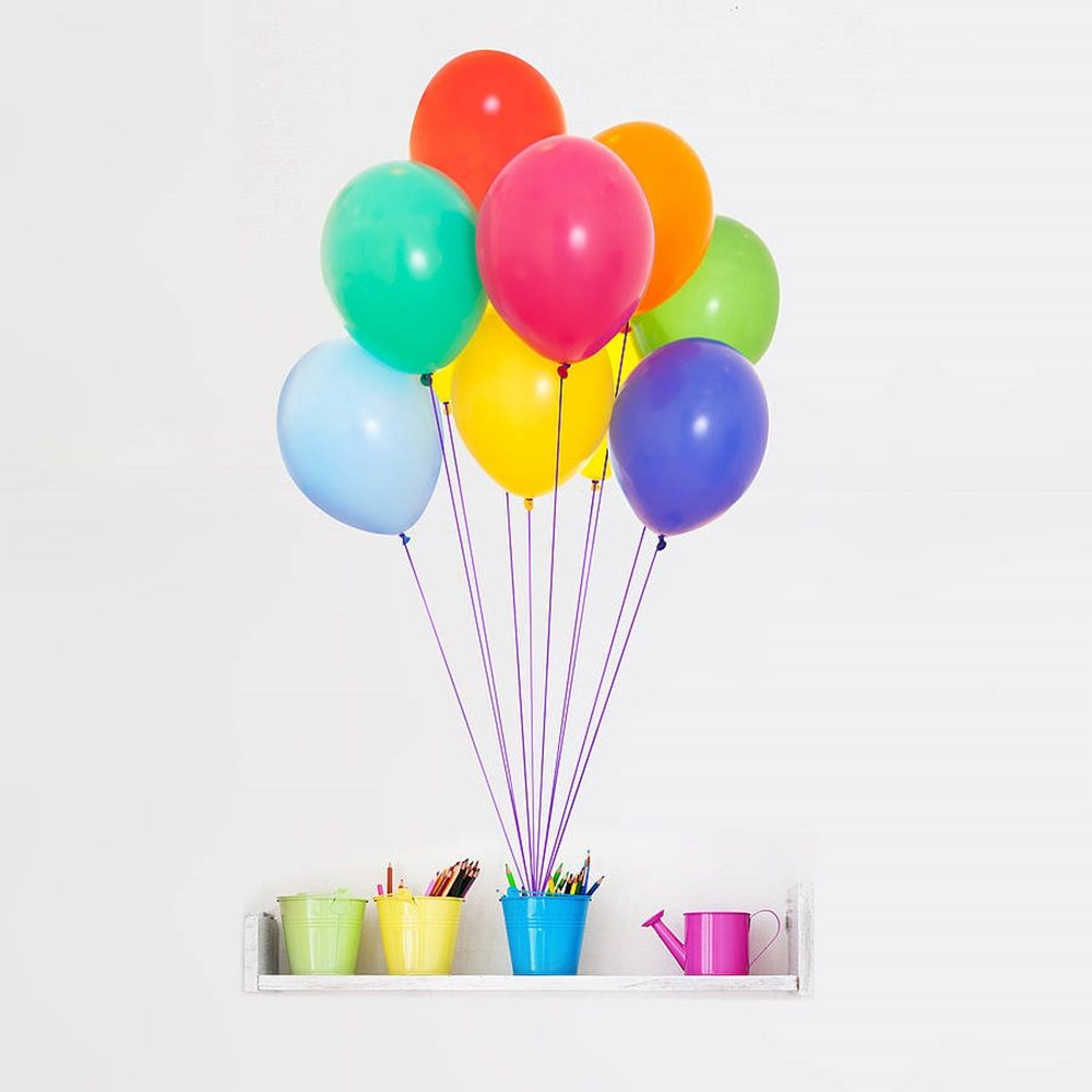 Colourful balloons vinyl wall sticker cuckooland balloons colourful balloons vinyl wall sticker cuckooland amipublicfo Images