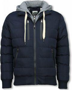 Trendy Winterjas Heren.Exclusieve Trendy Heren Winterjas Met Capuchon Van Het Merk Y