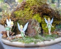 Fairy House Kit w Tinkerbell Fairy
