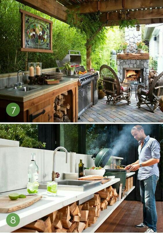 Roundup 10 Unbelievable Outdoor Kitchens Cocina Exterior Parrilla Integrada Asadores De Patio