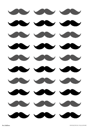 Surprising Free Lip And Mustache Printables Photo Booth Props Gender Hairstyles For Women Draintrainus