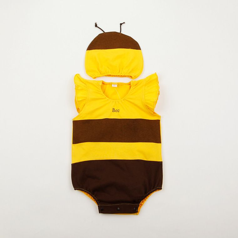 new arrivals baby summer clothing babies summer bee ladybug animal strawberry costume romper and hat #Affiliate