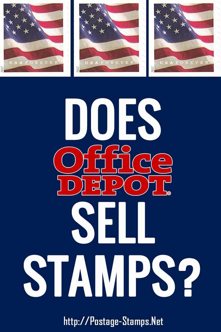 Can You Buy Stamps At Office Depot Find Out About Purchasing Us