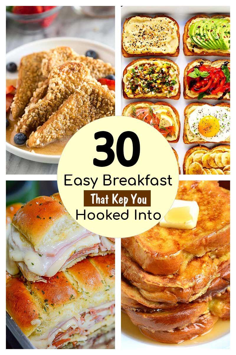 35 Back To School Breakfast Ideas Easy Breakfast Recipes Breakfast Recipes Easy Quick Easy Breakfast Breakfast Recipes Easy