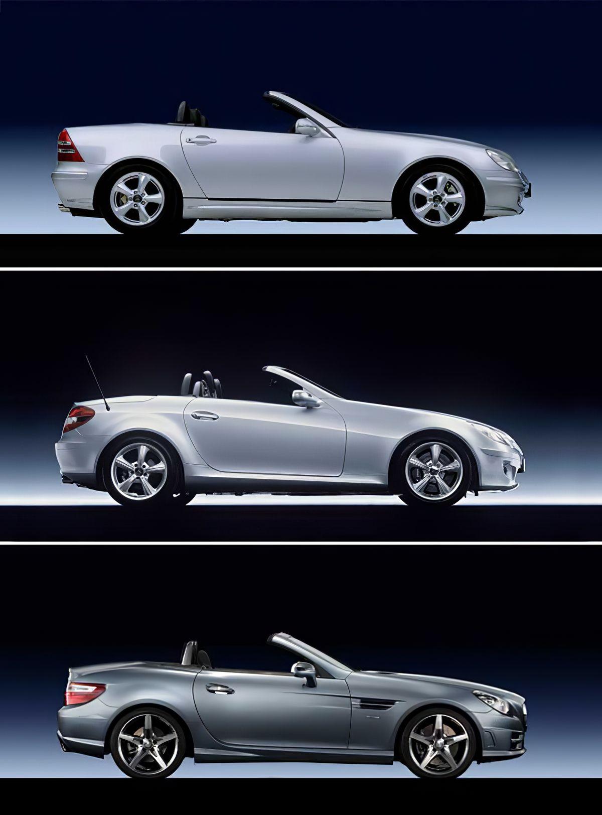 Mercedes Benz Slk Evolution R170 R171 R172 With Images