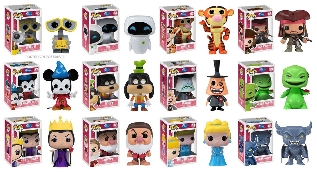 POP! Disney Series 4 by Funko