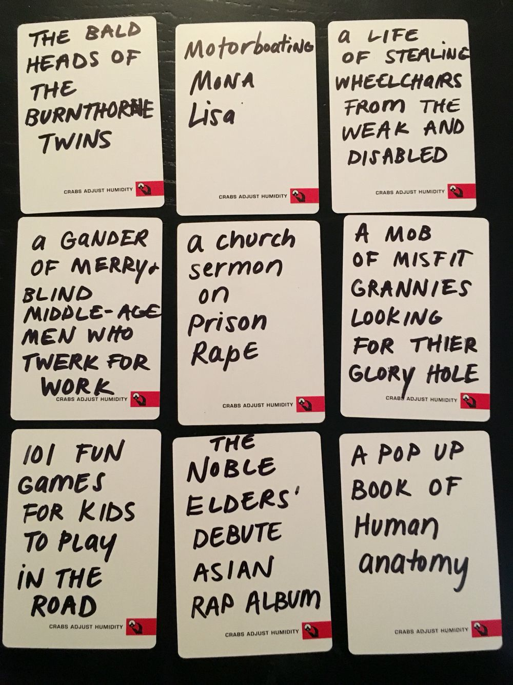 funny ideas for cards against humanity blank cards  cards