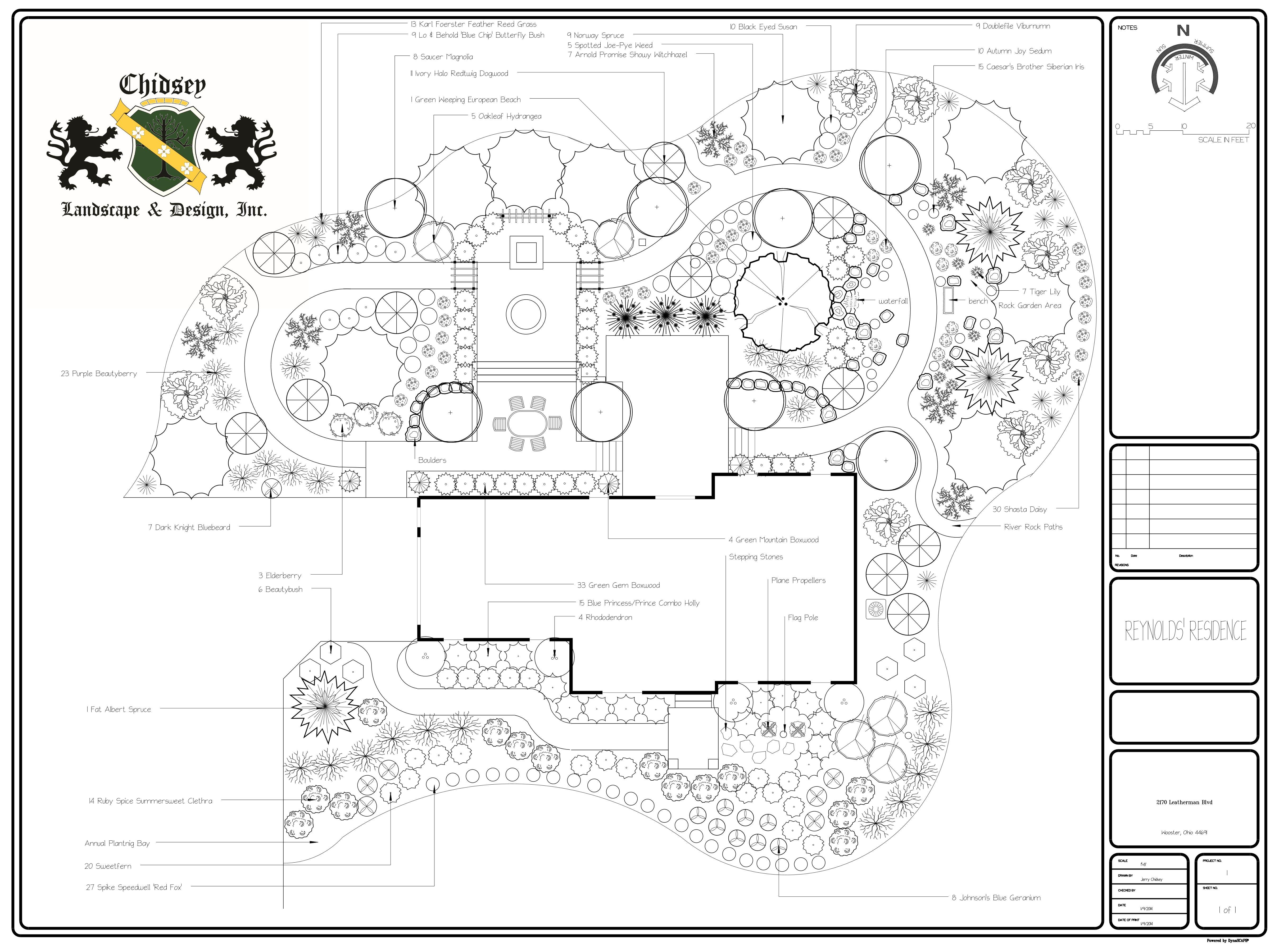 2d Landscape Design Program