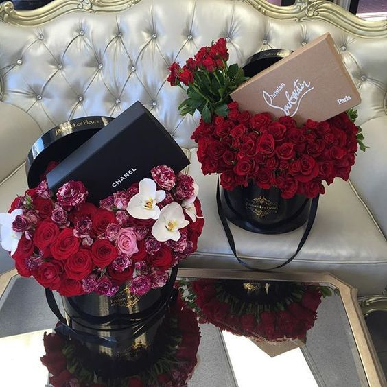 Flowers Chanel And Rose Image Luxury Flowers Gift Bouquet Gifts