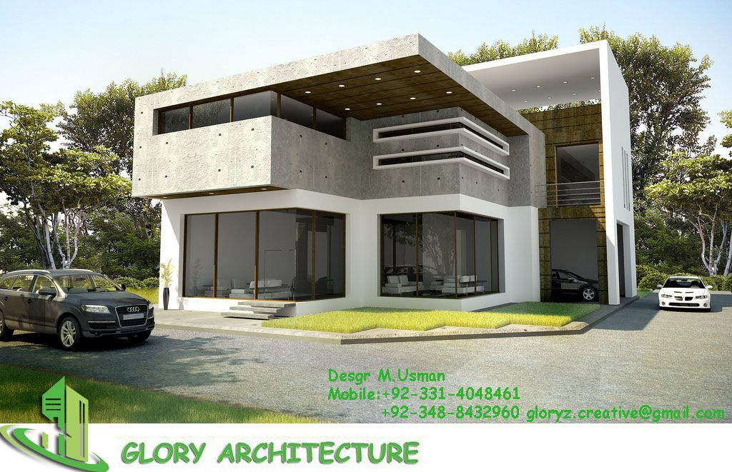 1 kanal latest house elevation , modern house elevation ...