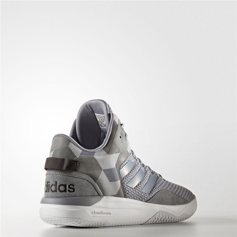 3fc97617c1 Adidas Cloudfoam Revival Mid Shoes (Grey / Grey / Core Black ...