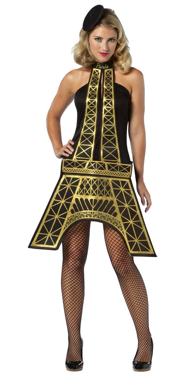 Ladies Eiffel Tower Costume French Fancy Dress Ladies Fancy Dress Fancy Dress Ball