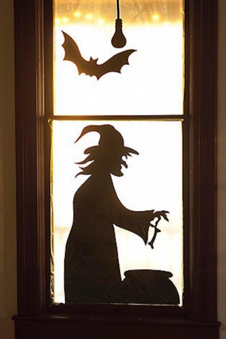 Scary Windows Halloween Window Decorations Halloween