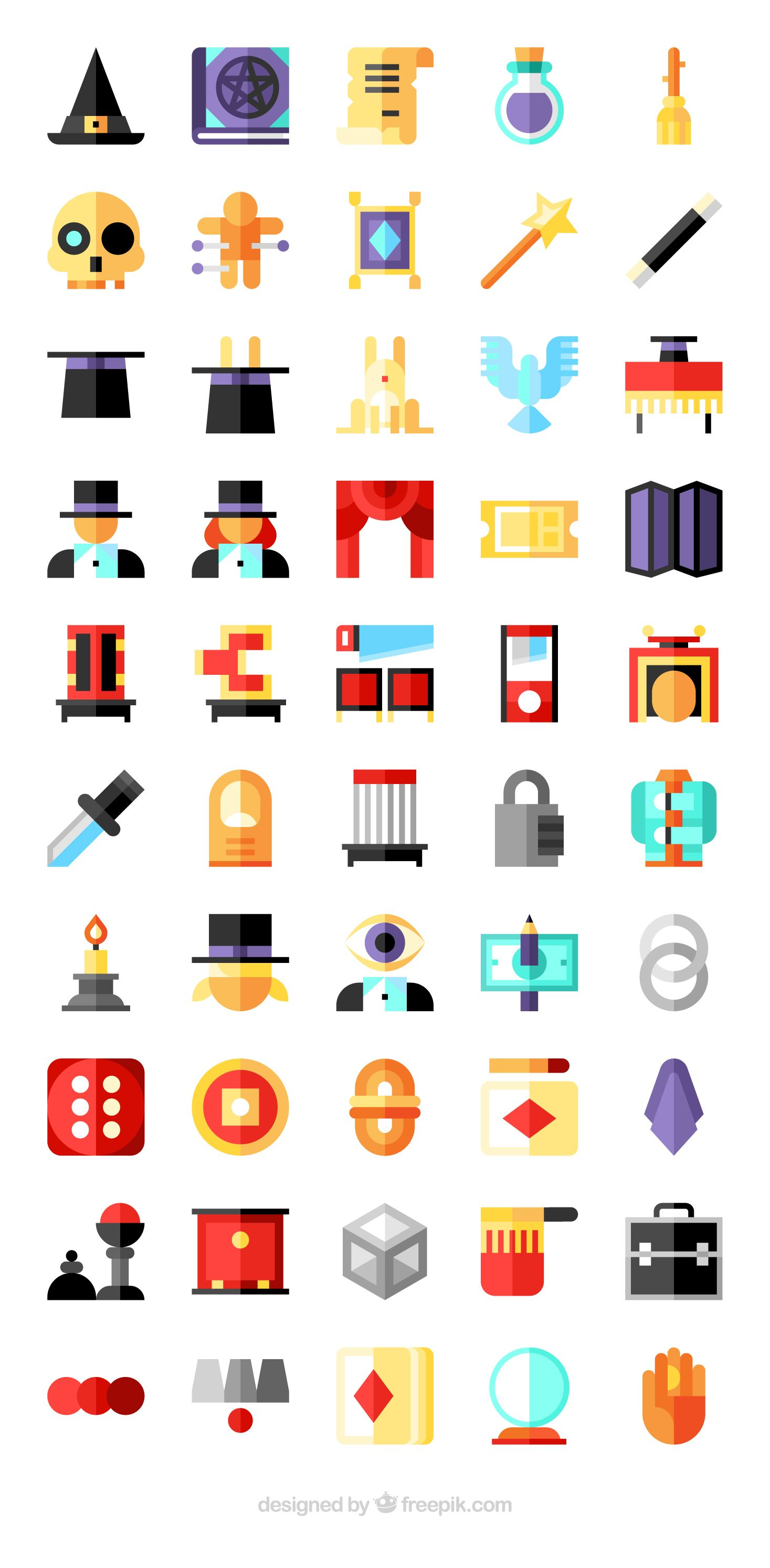 Download 50 premium vector icons of Magic designed by Freepik ...