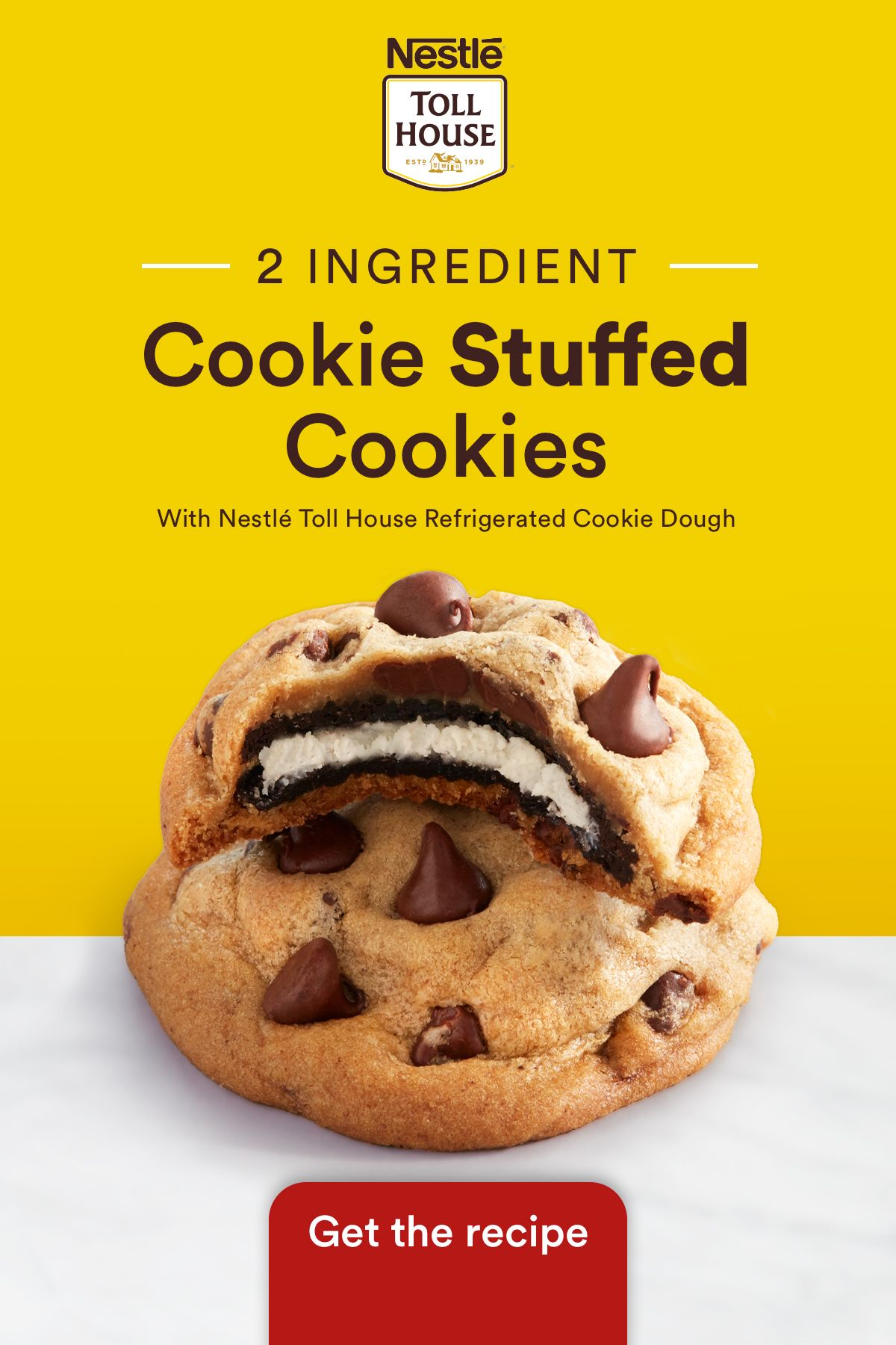 Cookie Stuffed Cookies Recipe In 2020 Yummy Food Food Delicious Desserts