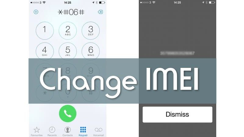 How to change imei number of iphone iphone cell phone