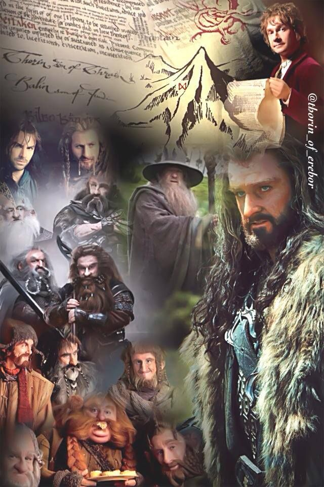 The Company Of Thorin Oakensheild O Hobbit Tolkien Hobbit