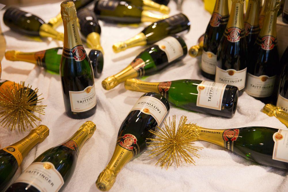 Champagne Taittinger - www.caros.co.nz