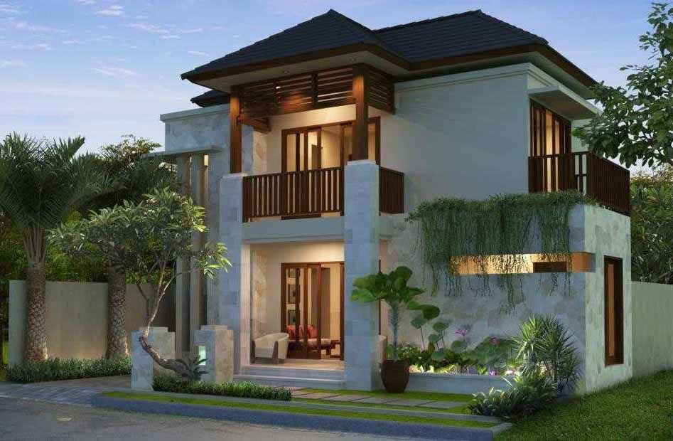 Desain Rumah Minimalis Modern 2 Lantai Tampak Depan Dream House