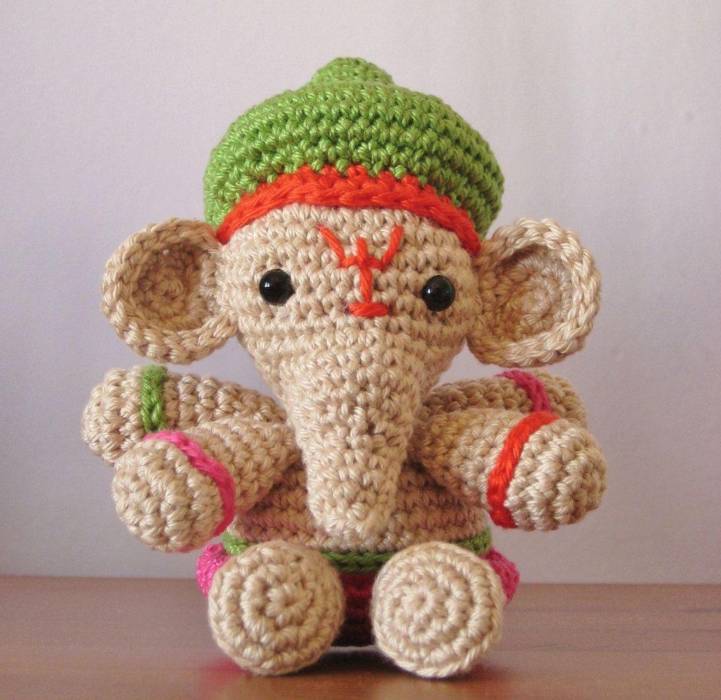 Ganesha   Kuscheltiere, Amigurumi und Häkeln