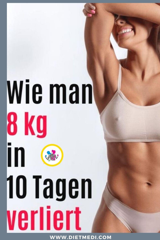 Diät verlieren 8 Kilo