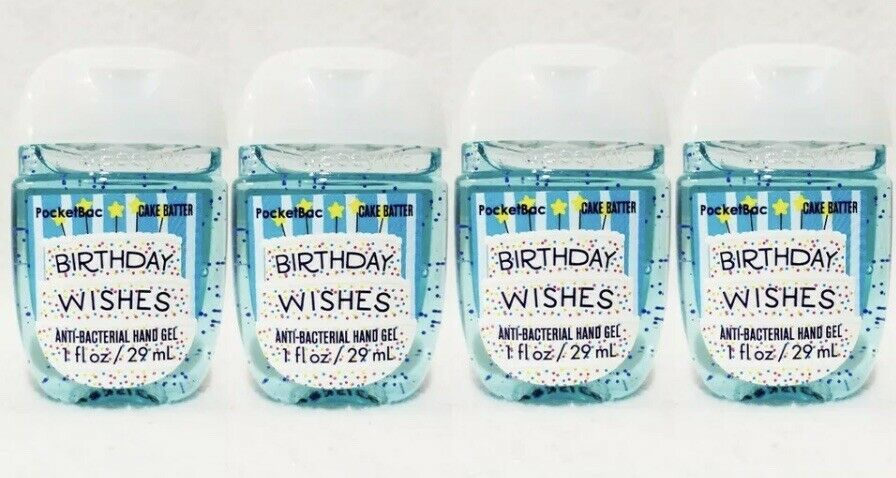 Birthday Wishes Cake Batter Bath Body Works Pocketbac