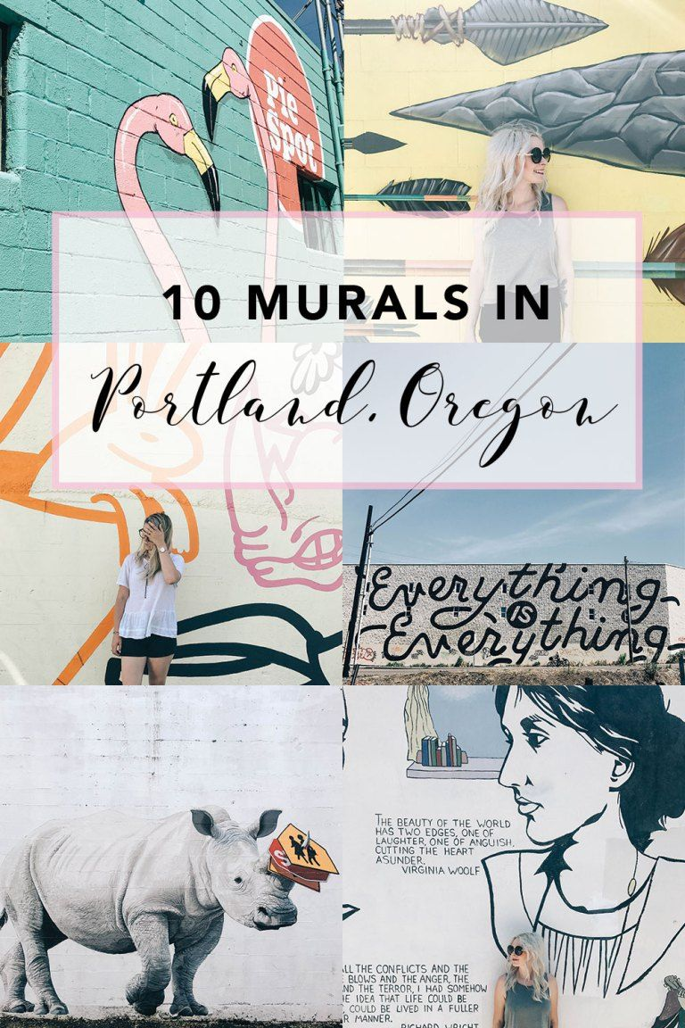 10 Large Murals to Discover When Travelling