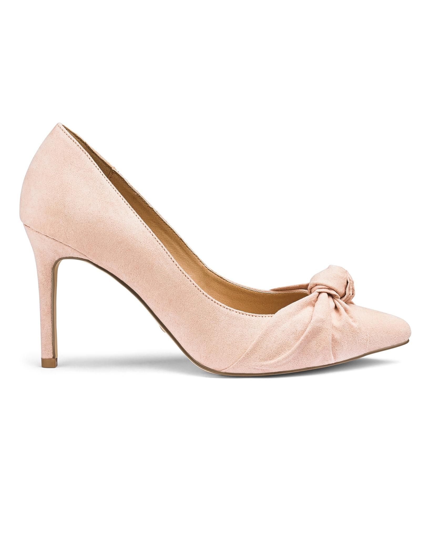Sole Diva Knot Pumps Extra Wide Eee Fit Court Shoes Shoes Sole