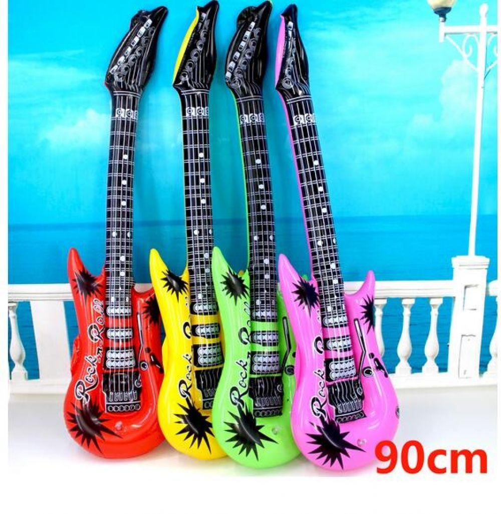 Inflatable Rock N Roll Guitar Fancy Dress Jazz Rock Party Prop