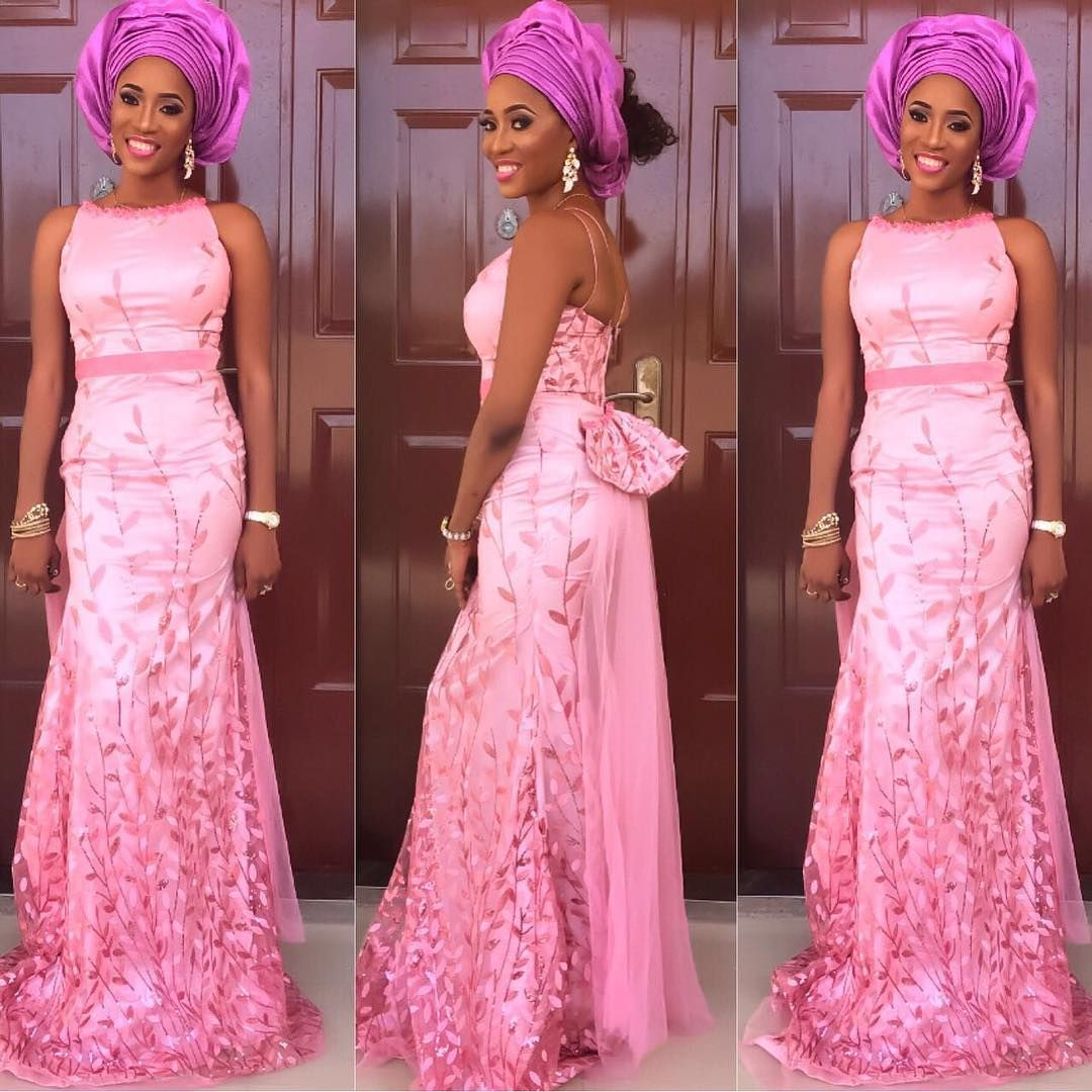 When it comes to any Owambe in Nigeria, the only thing on your mind ...