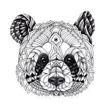 Resultado De Imagen De Mandalas De Animales Salvajes Arte De