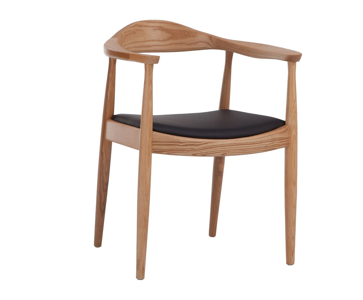Silla en madera de fresno negro y natural westwing home living chair pinterest - Westwing sillas ...