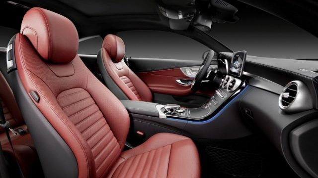 2016 Mercedes Benz C Class Coupe Cabin Interior Features Qorbee