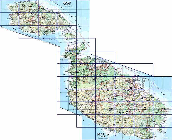 Malta Vista Map of Malta Malta Pinterest Malta