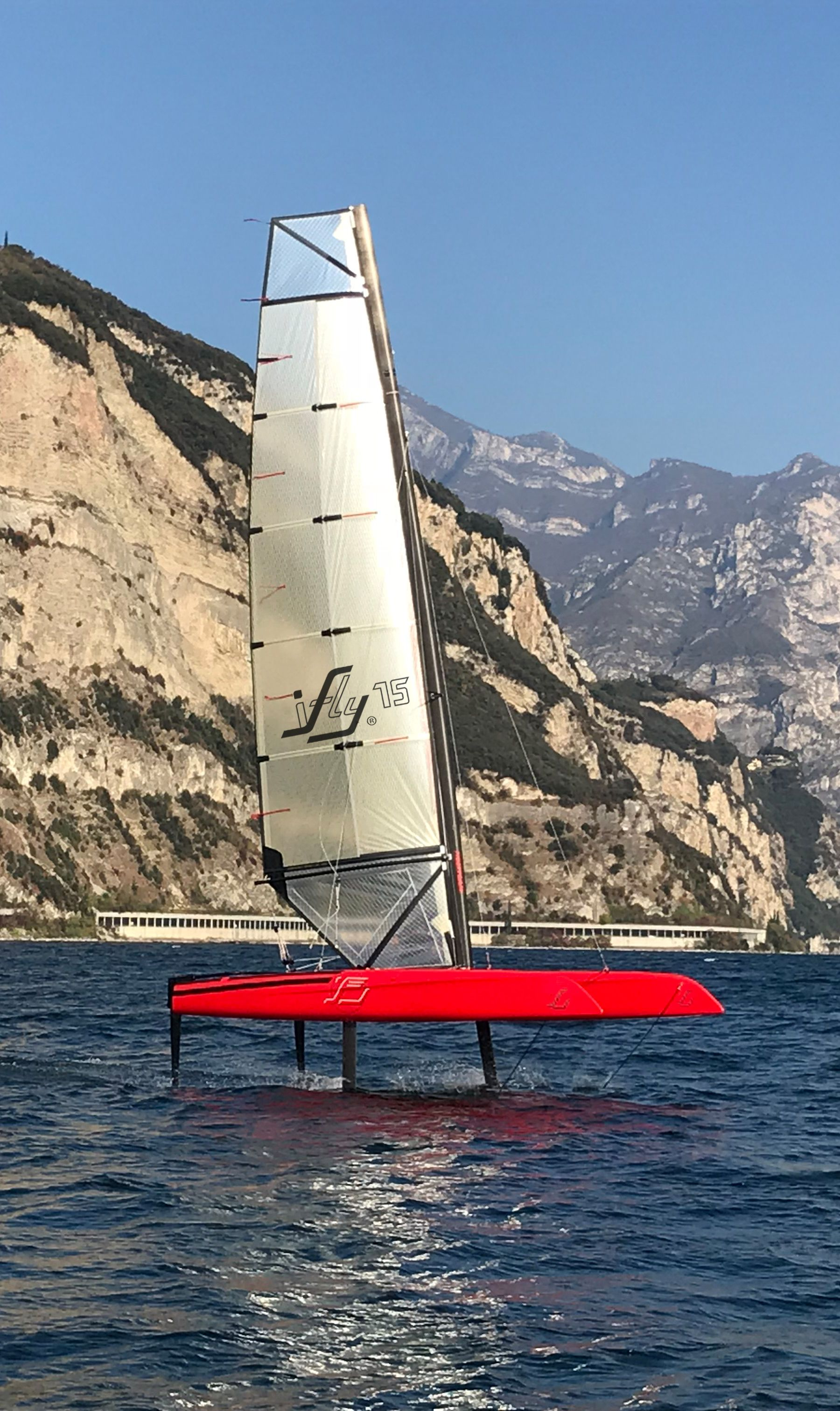 Hydrofoil Sailing An Exhilarating Feeling Ifly15 Maximum Performance And Stability With T Foils And Automatic Foil Control System Ifly15 By Cec Catamaran V 2020 G