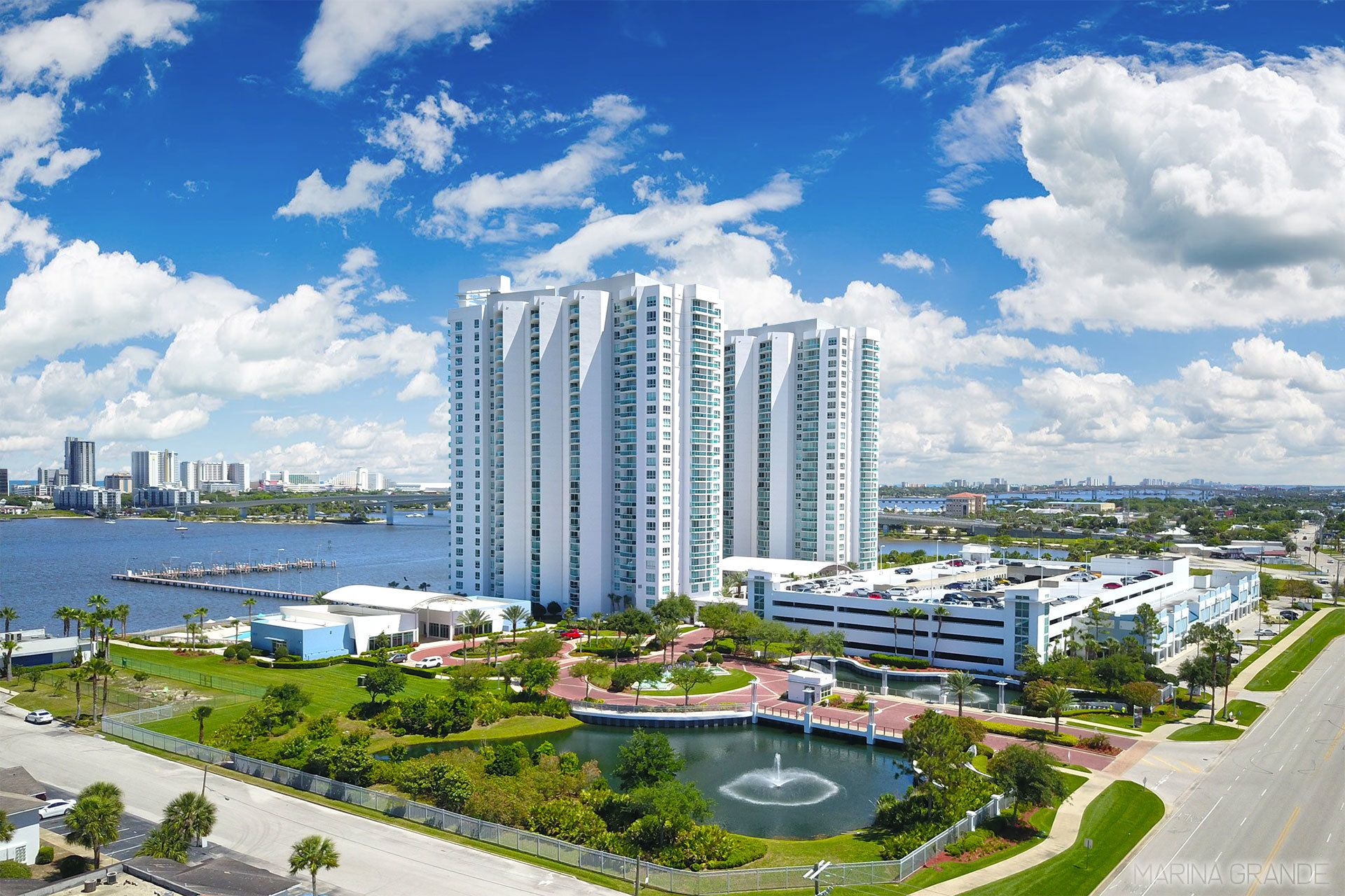Marina Grande riverfront condos for sale in Daytona Beach