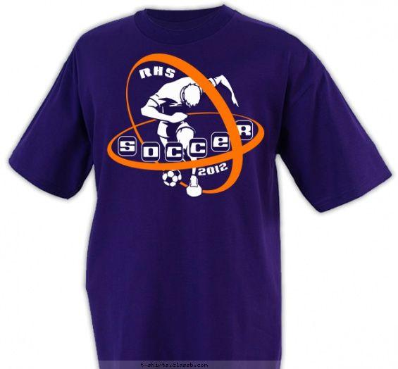 soccer orbit soccer design sp288 - Soccer T Shirt Design Ideas