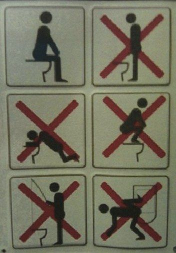 Funny Toilet Sign Bathroom Etiquette Signs Check More At Http Www