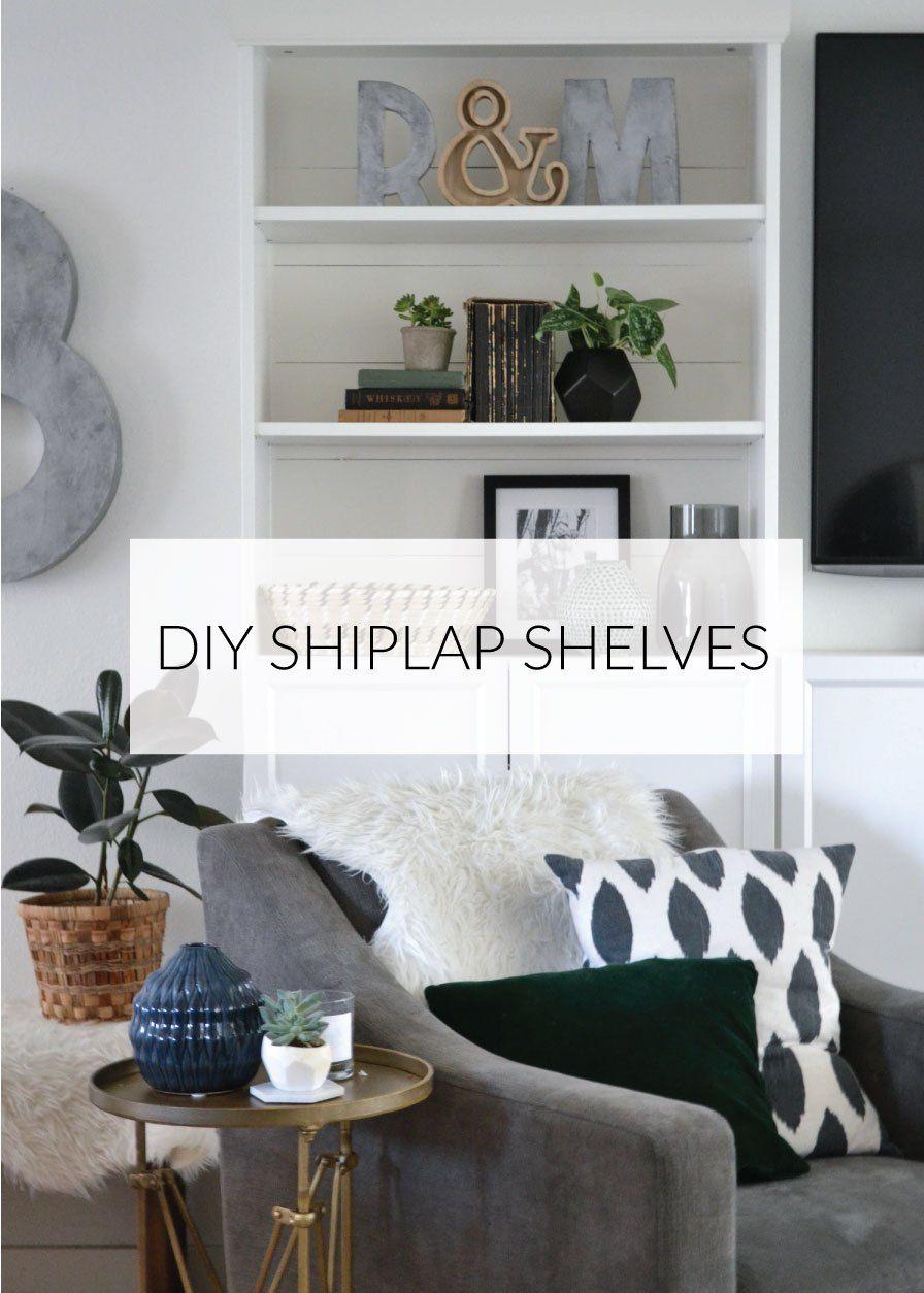 Diy Shiplap Shelves Diy Shiplap Shelves Home Diy