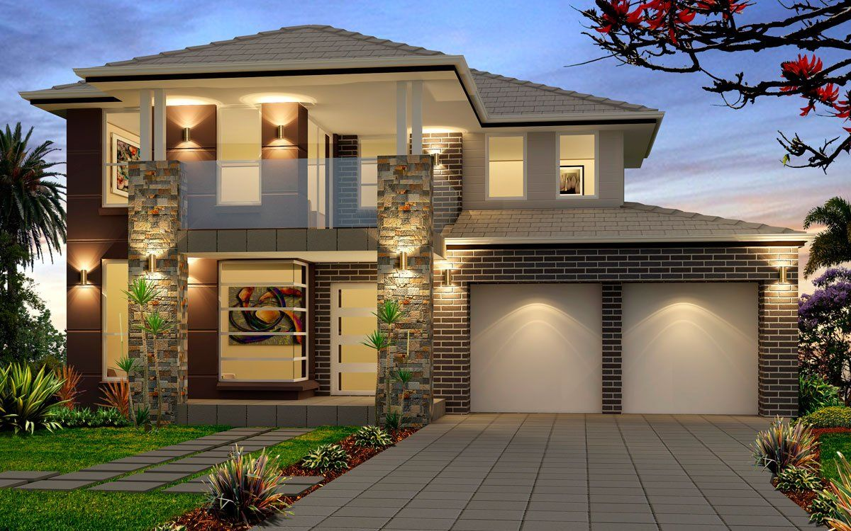 Evoque 40 - Double Level - by Kurmond Homes - New Home Builders ...
