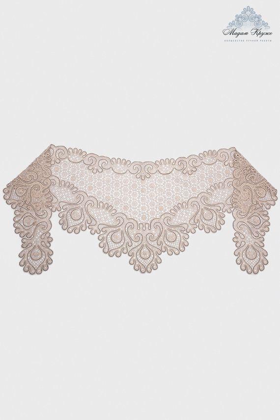 Bobbin Lace shawl \