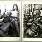 Hoy en día existen miles de representaciones de la pornografía, como el artista Stéphane Blanquet quien convierte porno antiguo en una versión de pop art.