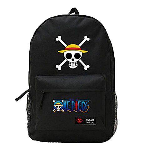 Creative Cartoon One Piece Sitting Luffy Canvas Backpacks Unisex Leisure Bag Shoulder Backpack (black) shoulder bag http://www.amazon.com/dp/B00OOFBJ3O/ref=cm_sw_r_pi_dp_EtzNub1GWQM4V