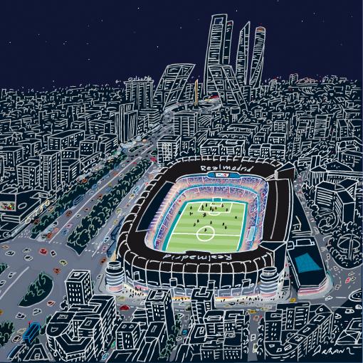 Madrid, estadio Santiago Bernabéu