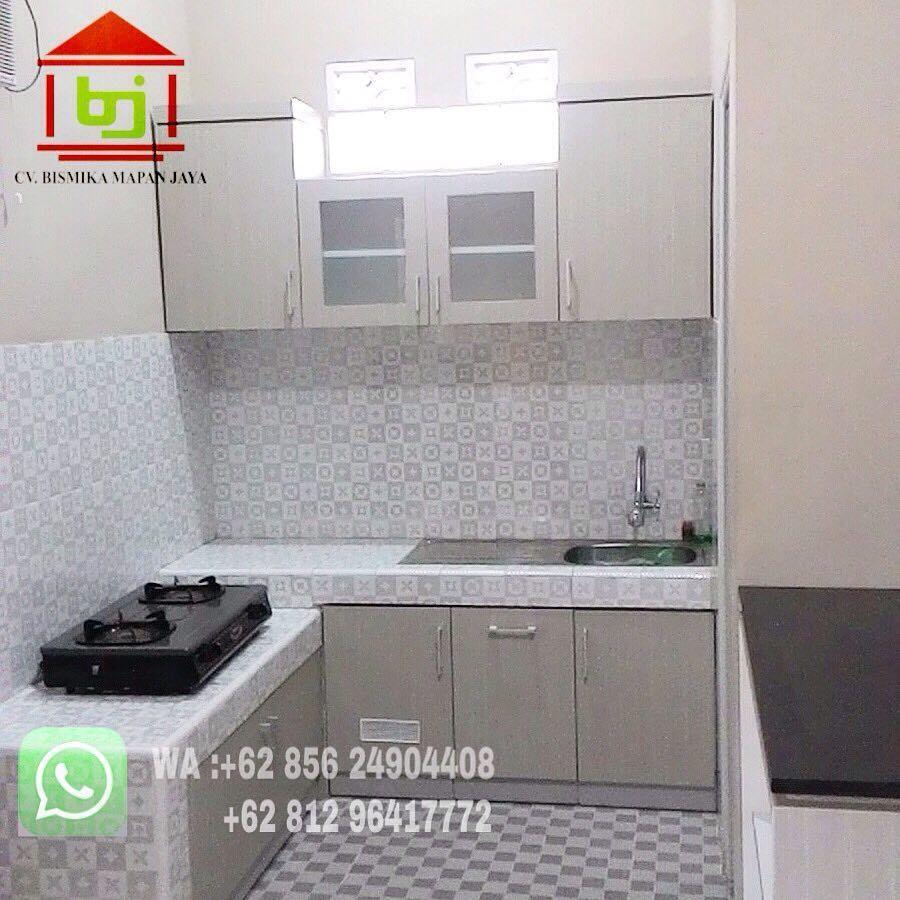 Instalasi 02 juli 2018 bismika interior menerima pesanan kitchen set lemari partisi